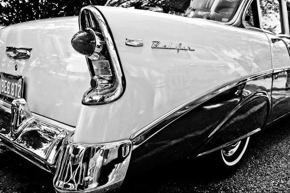 Chevrolet Bel Air Car Fine Art Print or Canvas Gallery Wrap