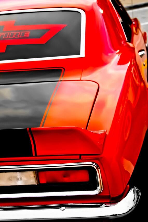 Chevrolet Camaro Firebird Car Fine Art Print or Canvas Gallery Wrap