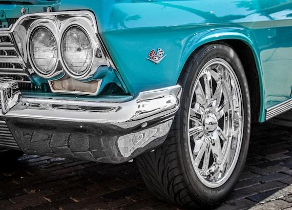 Chevrolet Impala Car 1962 Fine Art Print or Canvas Gallery Wrap