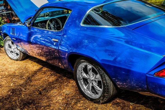 Chevrolet Camaro Car Fine Art Print or Canvas Gallery Wrap