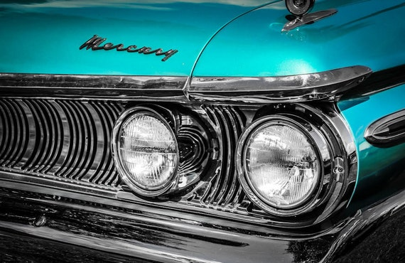 1961 Mercury Monterey Car Fine Art Print or Canvas Gallery Wrap