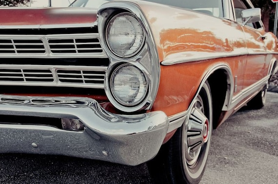 Ford Galaxie Car Fine Art Print or Canvas Gallery Wrap