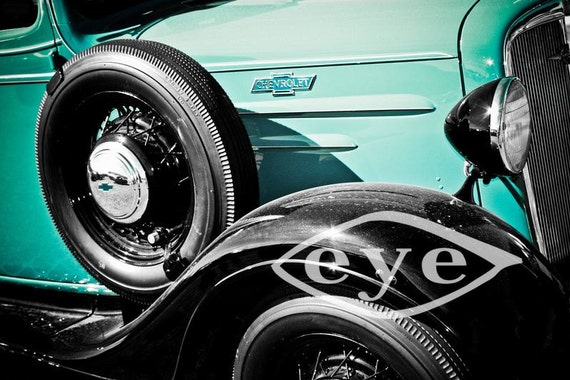 Chevrolet Panel Delivery Truck 1936 Fine Art Print or Canvas Gallery Wrap