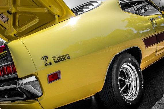 1971 Ford Torino Cobra Car Fine Art Print or Canvas Gallery Wrap