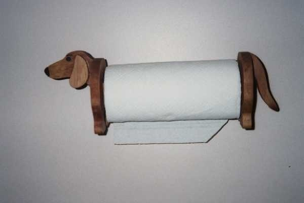 Dachshund Paper Towel Holder Delectable Dachshund Paper Towel Holder Handcrafted Etsy