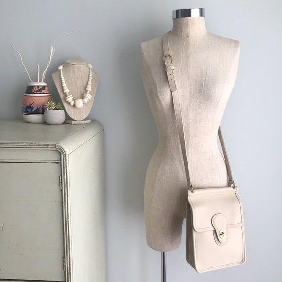 COACH Murphy Vintage Bone Leather Crossbody Bag /