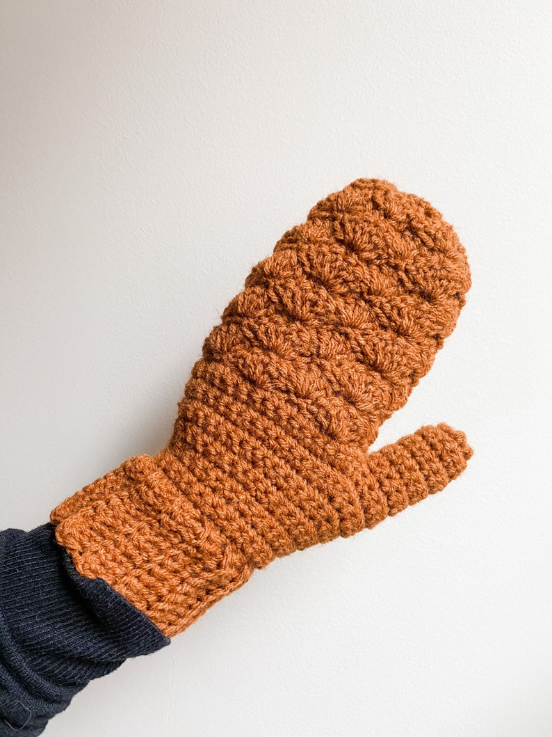 January Mittens  Ready To Ship
