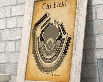 Citi Field Stadium Etsy