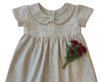 Dress Pattern The ALAINA DRESS for babies and little girls,  3 styles in 1 pattern, DIGITAL pdf sewing pattern, fits ages 6 months - 6 years