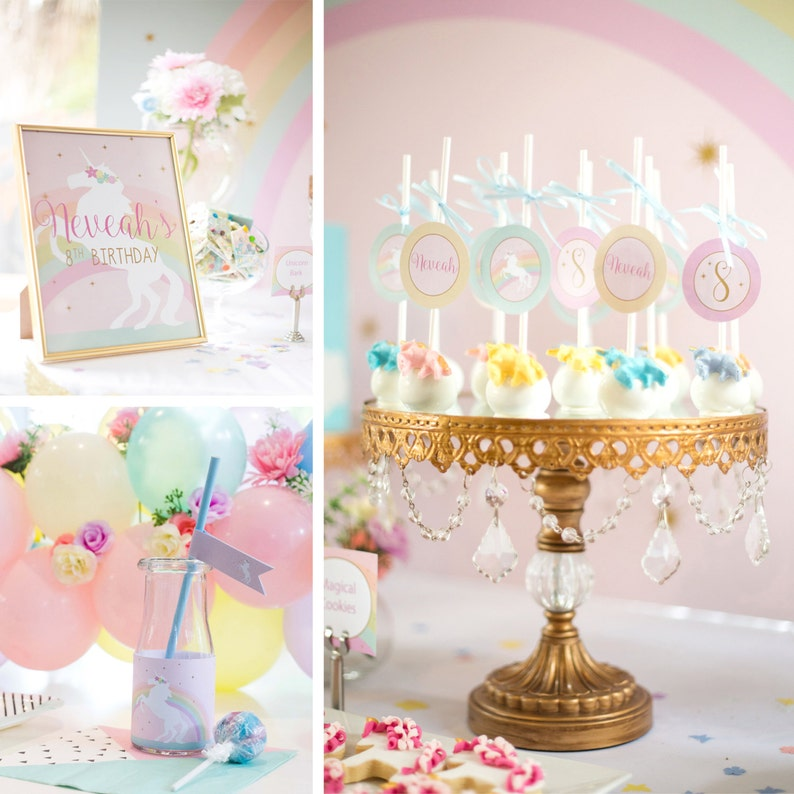 Magical Unicorn Party Collection  DIY image 1