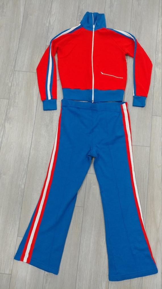 1970's JC Penney Tennis Apparel Warm-Up Suit