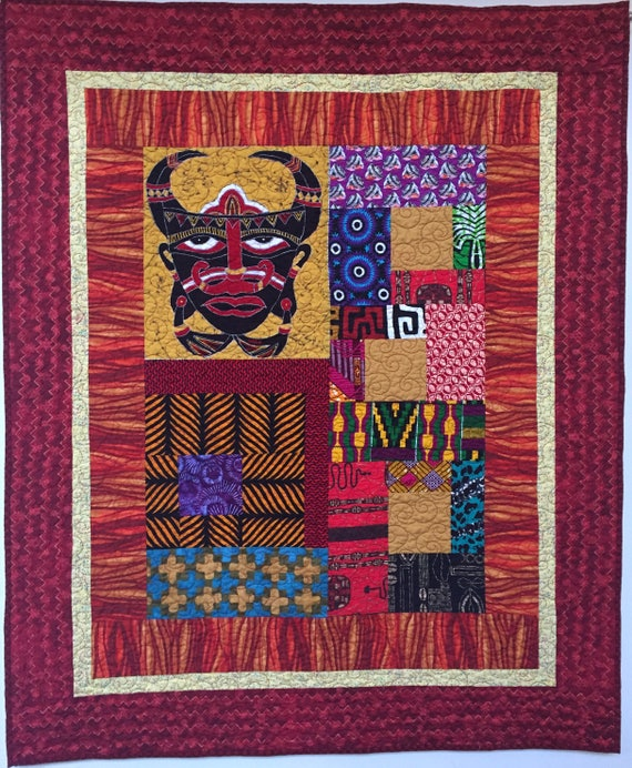 I Am Mad as Hell, 42x52 inch art quilt