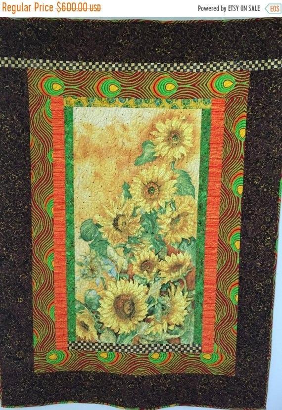 ATL QUILT FEST Sun in My Heart, 46x63 inch art quilt