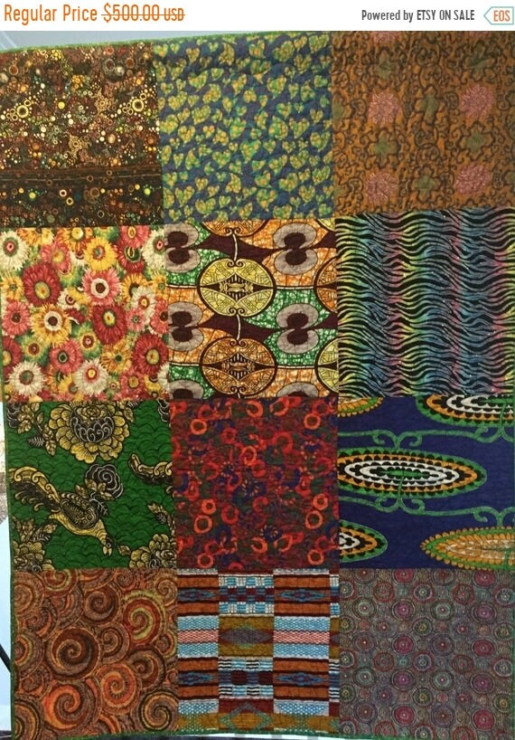 Black History Sale Bazaarly Big and Beautiul #4 lap quilt