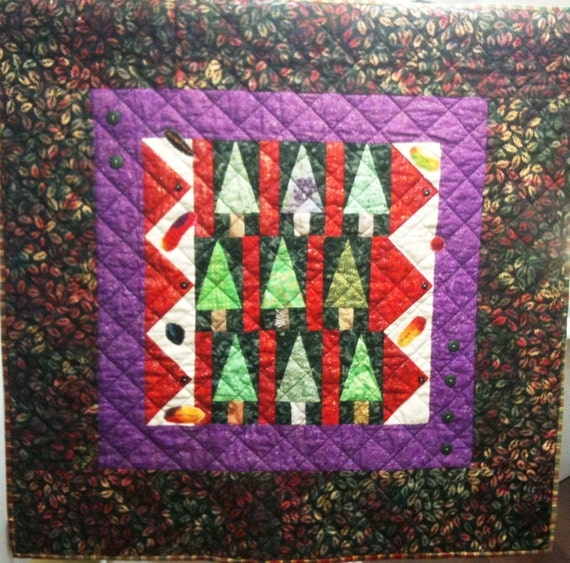 Enchanted Forest Art Quilt