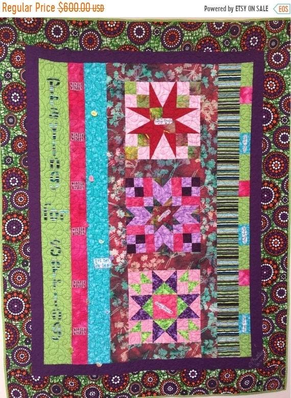 MLK Dream Sale Praying For Spring 43x56 inch art quilt