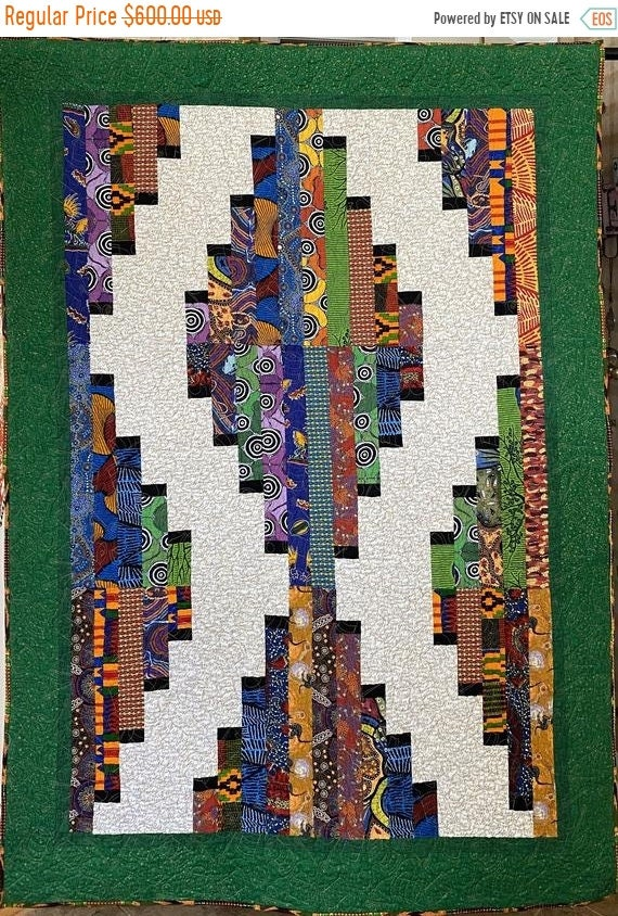 MLK Day Sale Quilters Gather Together, 47x66 inch quilted wallhanging