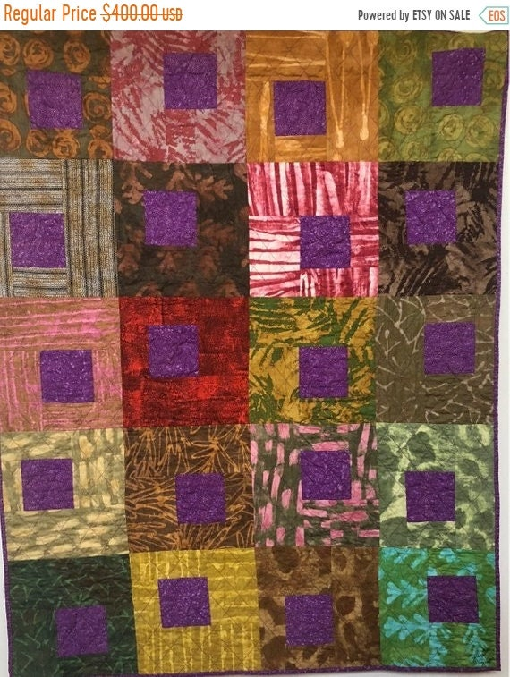ON SALE Be Regal 42x53 inch art quilt