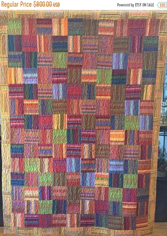 Holiday Sale Autumn's Splendor 54x72 i8nch lap quilt