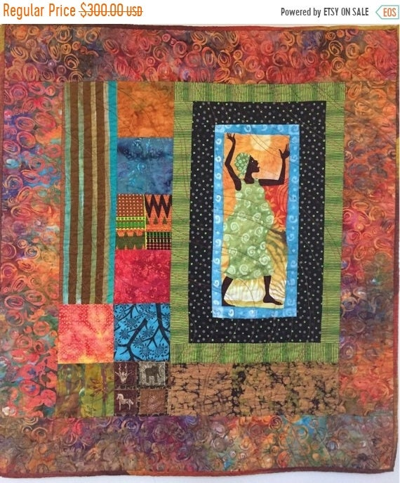 Almost Fall Sale Grateful For Another Happy Day #1 quilted wallhanging