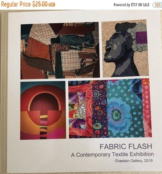 Hotlanta sale Fabric Flash: A Contemporary Textile Exhibition catalog