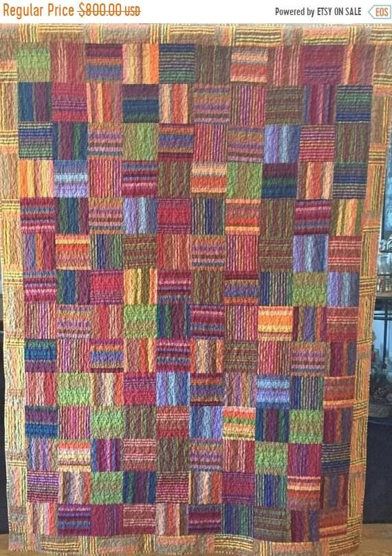 MLK Day Sale Autumn's Splendor 54x72 i8nch lap quilt