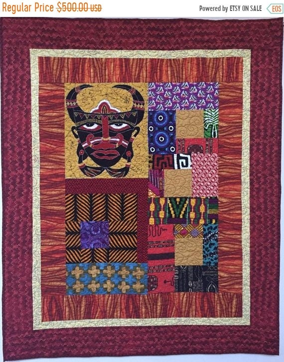 Holiday Sale I Am Mad as Hell, 42x52 inch art quilt