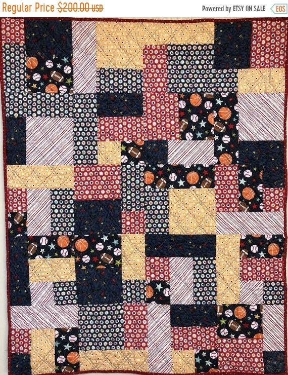 Juneteenth sale Be the Team Captain 34x42 inch baby quilt
