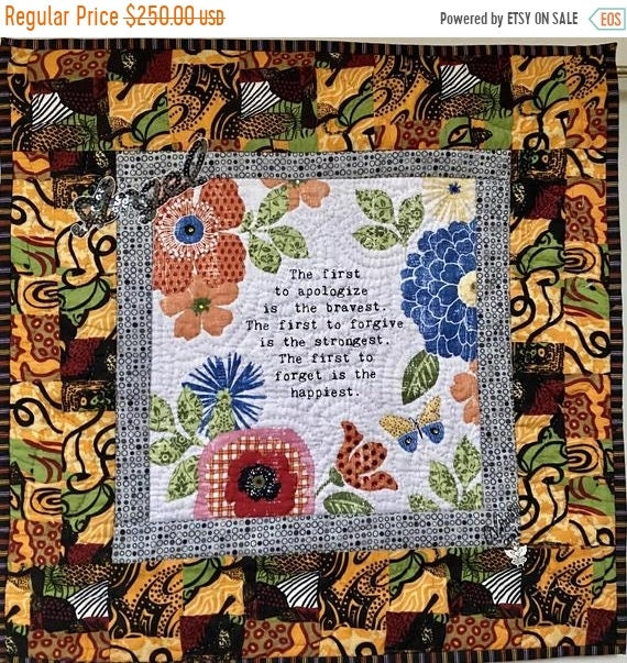 Hotlanta sale Whispers From My Angels #1 mini art quilt