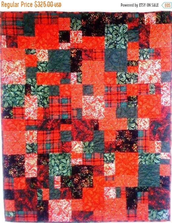 Fall sale Christmas After You Left art quilt wallhanging