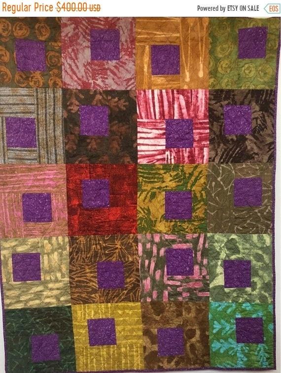 Black History Sale Be Regal 42x53 inch art quilt