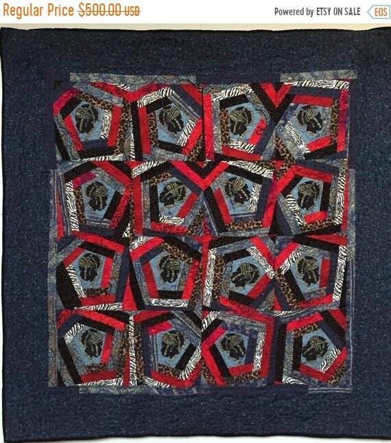 DISCOUNT Queen of Nobody 48x48 inch art quilt