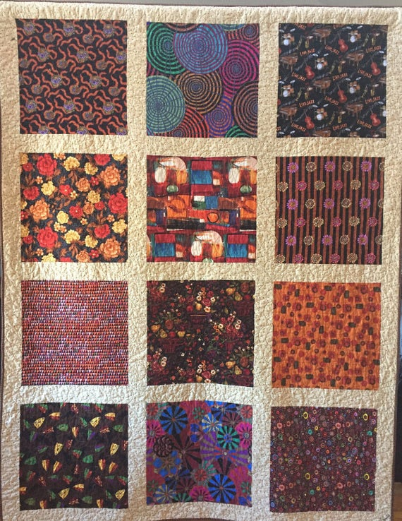 Ugly Ducklings Turn into Swans 65x85 inch art quilt