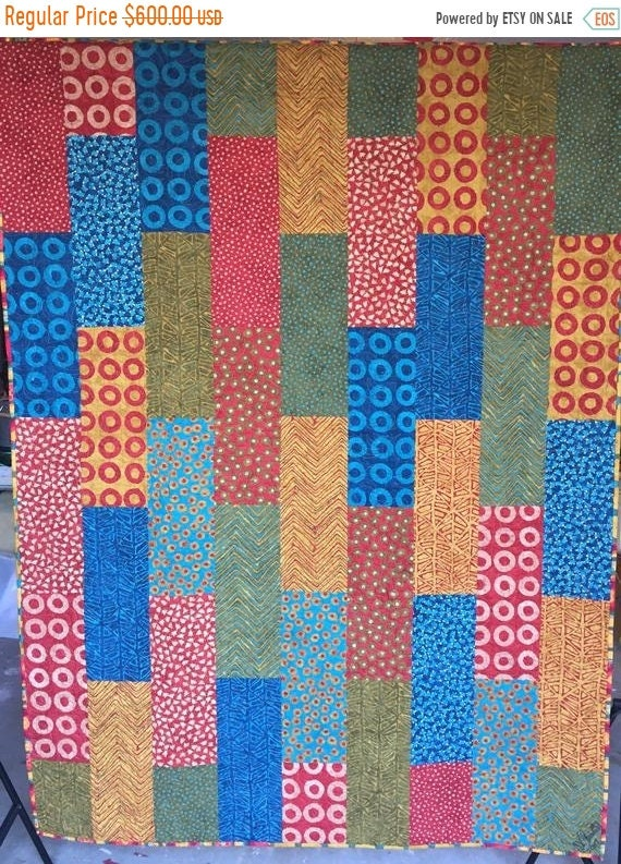 HOLIDAY SALE A Good Day to Curl Up With a Book 54x72 inch lap quilt