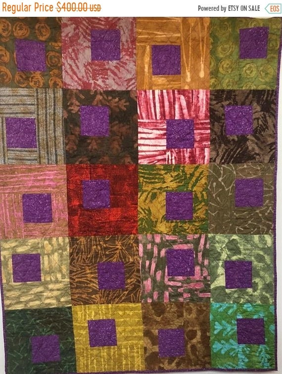 Holiday Sale Be Regal 42x53 inch art quilt