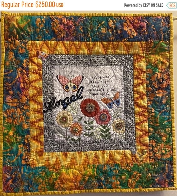 Hotlanta sale Whispers From My Angels #2 art quilt