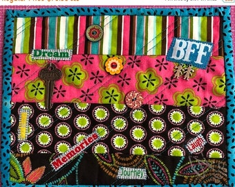 Hello Summer Sale Friendship #3 8x10 inch mini quilt
