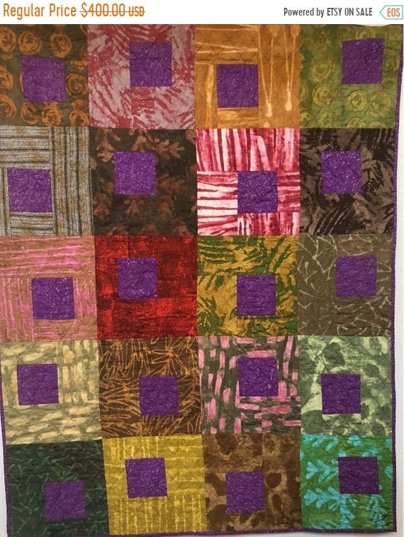 ATL QUILT FEST Be Regal 42x53 inch art quilt