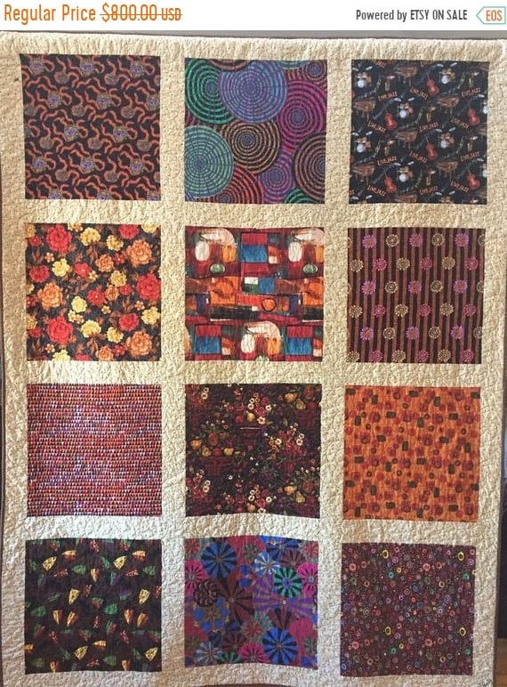 Holiday Sale Ugly Ducklings Turn into Swans 65x85 inch art quilt