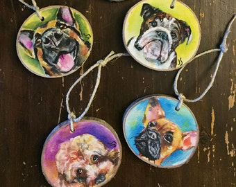 Custom Ornament of your Pet