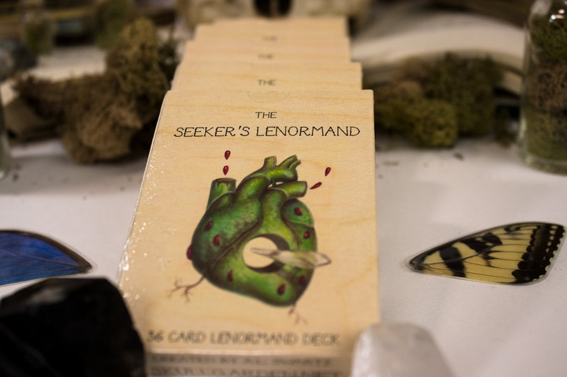 The Seeker's Lenormand Deck image 0