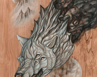Wolf Down the Earth  PRINT