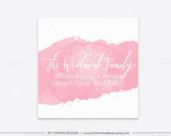 Watercolor Return Address Labels, Easter Address Label Printable, EA103