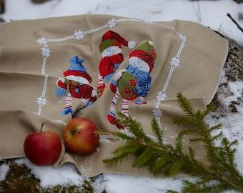 Cross stitch pattern TOMTE - embroidery pattern,scandinavian,christmas,cross stitch,needlepoint,swedish,anette eriksson,embroidery,holiday