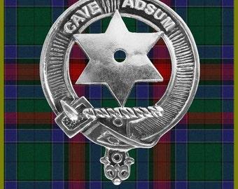 Lapel Pin Jardine Scottish Clan Crest Tie Tack