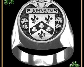 Johnson family crest | Etsy