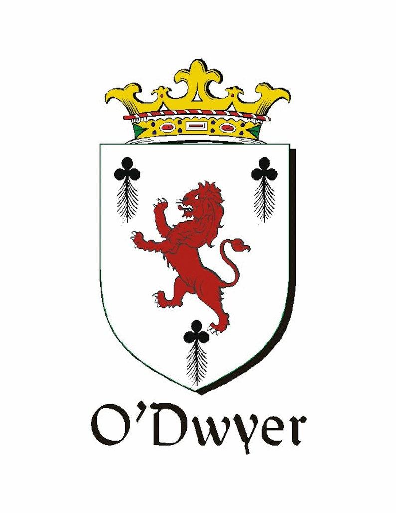 Dwyer Irish Coat of Arms Money Clip
