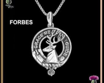 Forbes  Clan Crest Scottish Pendant CLP02