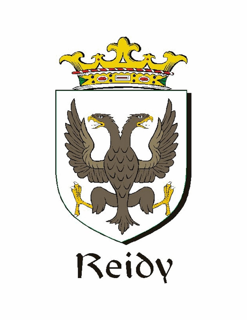 Reid Irish Dublin Coat of Arms Badge Decanter