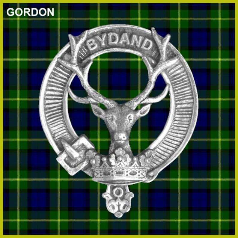 Gordon Clan Crest Badge Skye Decanter